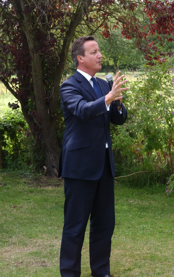 David Cameron at the Opening Ceremony